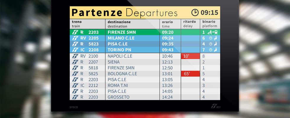 Mobile UX-UI Design Trenitalia Display Windows 8 App