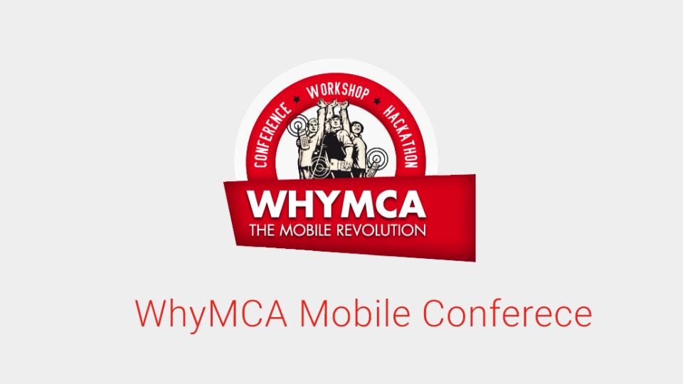 Andrea Picchi - WhyMCA 2012
