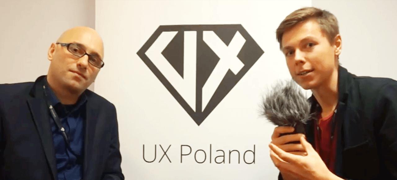 Andrea Picchi - UX Poland Interview 2015