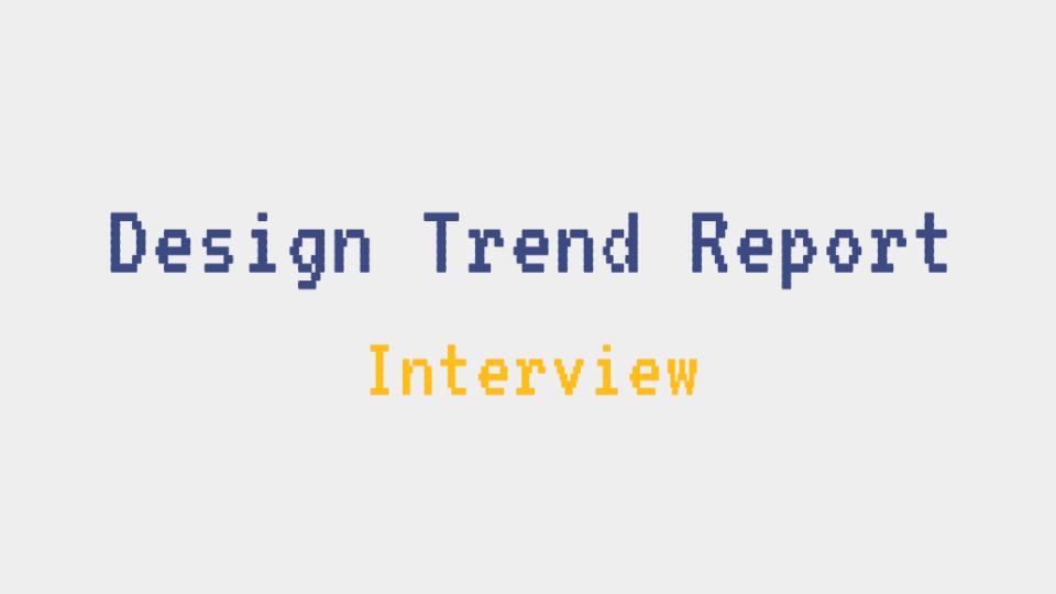 Andrea Picchi - Design Trends Report 2019